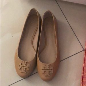 Tory Burch ballet flats Worn once